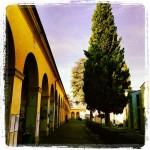 Il cimitero la Villetta, voluto da Maria Luigia, ospita ora le tombe dove riposano grandi personaggi del panorama musicale italiano.